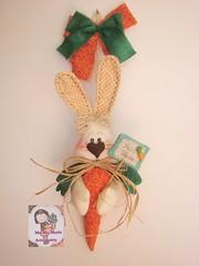 CoelHas na CeNouRa.... (Ma Ma Marie Artcountry) Tags: coelho coelhodetecido coelhoemtecido cenoura cenouradetecido cenouraemtecido páscoa easterdecoration easterbunny easter artesanato