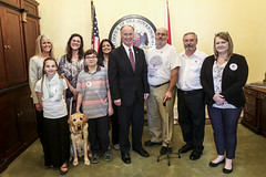 03-01-17 Alabama Rare group meets with Gov. Bentley