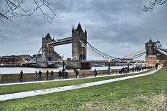 Tower Bridge @ dusk. (Chris Firth of Wakey.) Tags: towerbridge london
