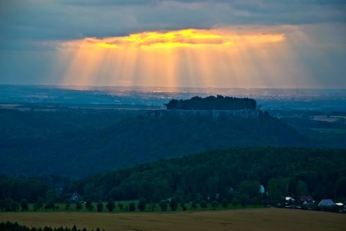 Amazing moment in Sächsische Schweiz