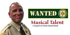 WANTED: Sheriff's Office Seeks Cullman Area Musical Talent (cullmantoday) Tags: rex sorrow cullman county sheriff musical talent performers special needs fundraiser concert