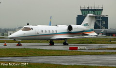 N60LJ Learjet 60 Glasgow March 2017 (pmccann54) Tags: n60lj learjet60