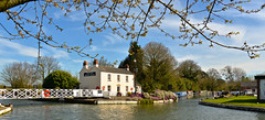 SAUL JUNCTION (chris .p) Tags: gloucestershire nikon d610 saul canal water spring 2017 junction boats tree uk england march narrowboat view scene capture