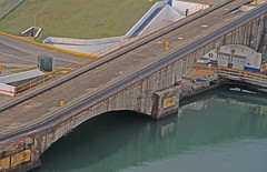 bridge across the Panama Canal (joybidge (back from vacation)) Tags: panamacanal naturepatternscanada trishcanada tsmay62013