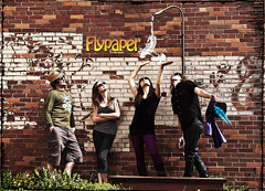 Flypaper2013poster (amelia marie 73) Tags: original music usa mi outdoors four photography lyrics nikon natural michigan flash band kalamazoo local touring flypaper ameliafalk ameliasbydesign