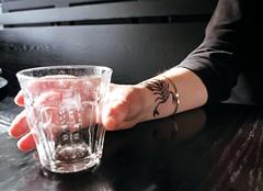 Scorpion (Georgie_grrl) Tags: new friends toronto ontario tattoo cool mary photographers social scorpio scorpion pentaxk1000 wrist outing upcloseandpersonal inkwork rikenon12828mm torontophotowalks topwbdg