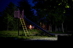 2013.06.19 (rt13 rosca) Tags: park colors architecture dark alone midnight alternative