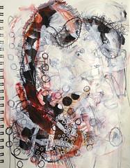 (asahi tanaka) Tags: art artwork artist acrylic drawing mixedmedia abstractart sketchbook