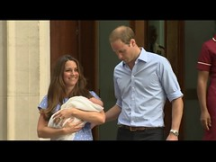Prince William, Kate & Royal Baby at  Lindo Wing