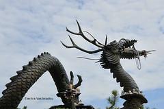 Make your offerings to the dragon (Electra K. Vasileiadou) Tags: art statue temple nikon asia dragon religion buddhism korea monastery busan 18200mm   d7000 yonggunsatemple gettyimagesjapan13q3