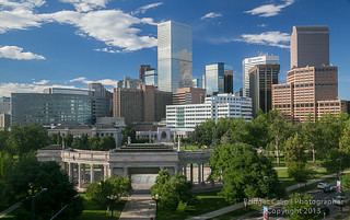 The Mile High City - Denver Colorado Skyline