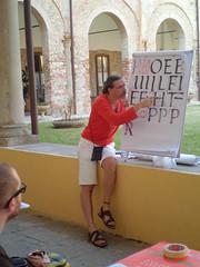 L'evoluzione dell'italico: dalla tradizone al segno moderno, con Giovanni De Faccio (Associazione Calligrafica Italiana) Tags: workshop calligraphy calligrafia italic calligrafie cancelleresca