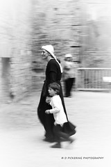 Ghostly woman & child (mrsdawnpickering) Tags: red blackandwhite bw horse blackwhite medieval knight joust squire maiden jousting bolsover bolsovercastle medievalenactment medievaljoust bolsovermedievaljoustingtournament