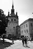 Clock tower in center Segesvár / Sighisoara (toma foto) Tags: outstandingforeignphotographersvisitingromania