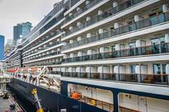 Holland America Line Cruise ship ms Zuiderdam docked at Canada Place Vancouver BC Canada (mbell1975) Tags: ca cruise canada holland vancouver america boat dock ship bc waterfront place britishcolumbia columbia terminal canadian line ms british passenger van docked canadaplace zuiderdam cruiseline