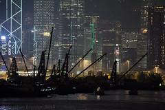 Hong Kong   |   Boats, Cranes and Towers (JB_1984) Tags: cranes boat shadow silhouette skyline skyscraper tower typhoonshelter newyaumateityphoonshelter taikoktsui yautsimmongdistrict kowloon kowloonpeninsula hongkong 香港 hongkongsar hk china nikon d7100 nikond7100 explore explored