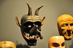 Bozen: Krampus Masks (lazzo51) Tags: italy museum masks sdtirol bolzano bozen altoadige southtyrol krampus museocivicobolzano stadtmuseumbozen