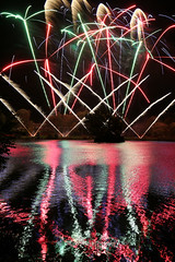Day #2133 (cazphoto.co.uk) Tags: colour reflection water upsidedown fireworks roundtable billericay project365 lakemeadows 021113 canon24105mmeff4lisusm canoneos5dmkiii beyond1827 2013th54