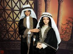 erif and Asim (Sadomina) Tags: sol doll tan arab bjd arabian dollfie volks abjd sheik fcs asim f31 erif ringdoll asimalrashid