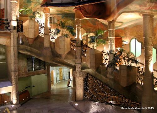 Inside La Pedrera