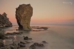 Roca  cabeza de dagrn (Francisco J. Prez.) Tags: naturaleza nature mar spain paisaje pentax14mm28 pentaxk5 franciscojprez