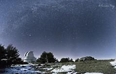 Star Hunter. (Francisco J. Prez.) Tags: naturaleza nature night landscape paisaje cielo estrellas nocturnas seleccionar pentax14mm28 pentaxk5 franciscojprez