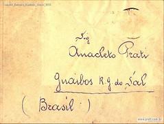 Convite Enterro Daniele Verso 1952