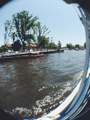 (Carol Melo_) Tags: brazil argentina brasil river kid cool buenosaires awesome fisheye brazilian iphone iphone5 vsco