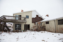 Decadent Decay (blacksheep_vmf214) Tags: house snow building abandoned love trash canon photo condemned essay mess mark debris down bowl falling explore dirt ii vacant document rubbish 5d torn inside shack dslr