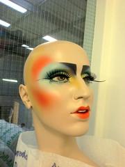 chinese new year (buckaroo kid) Tags: uk london mannequin display makeup chinesenewyear harrods shopwindow yearofthehorse mannequinmakeup mannequinmakeupartist vision:outdoor=0501