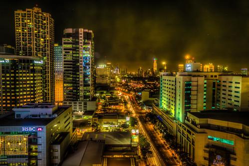 Nighttime in Manila