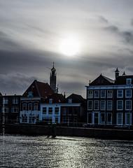 Sunset @ Haarlem (Xocoatzn) Tags: travel sunset holland haarlem water netherlands amsterdam nikon europe thenetherlands vacations d3100 hdw2014