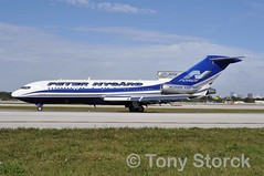 VP-BPZ (bwi2muc) Tags: plane airplane flying airport aircraft aviation boeing 727 fll 727100 peternygard fortlauderdaleinternationalairport vpbpz peternygård nforceone boeing727100resuper27