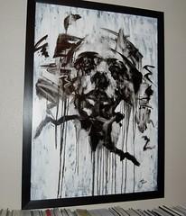 Tom French: Folie  trois (piers mason) Tags: portrait art painting sketch chalk artist fineart charcoal painter figure oil figurative tomfrench inkd londonartfair artrepublic