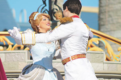 Cinderella and Prince Charming (Princess Shea) Tags: disney disneyworld cinderella waltdisneyworld magickingdom princecharming dreamalongwithmickey facecharacter cinderellaandprincecharming facecharacters