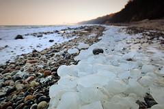 _DSC3571_2 (polarnacht_mv) Tags: winter strand warnemnde steine eis rostock mv