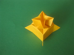 Spiky Box by Me (georigami) Tags: paper origami papel papiroflexia