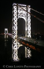 The George Washington Bridge (Chris Jude Lupetti) Tags: art photography fine georgewashingtonbridge fineartphotography fineartphotographs chrislupetti vision:plant=054 vision:outdoor=0653 flickrartphotographs