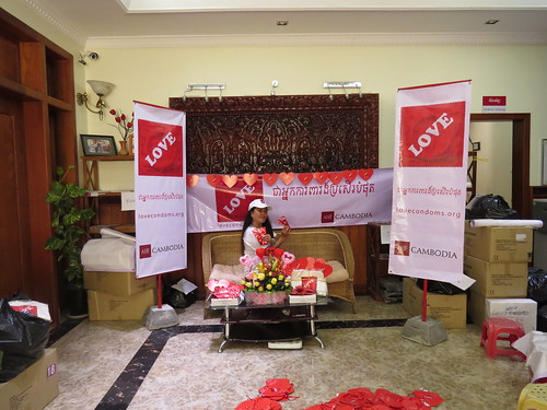 Int'l Condom Day 2014: Cambodia