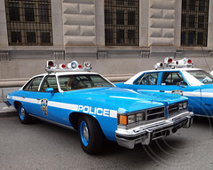 1976 Pontiac Le Mans NYPD Police Patrol Car (jag9889) Tags: show old city nyc blue ny newyork classic cars car mobile museum radio vintage automobile antique manhattan police nypd historic financialdistrict company vehicles transportation vehicle pontiac annual department lemans lawenforcement patrol 1976 finest rmp firstresponders policemuseum oldslip newyorkcitypolicedepartment newyorkcitypolicemuseum jag9889 y2012 692012 vision:car=0976