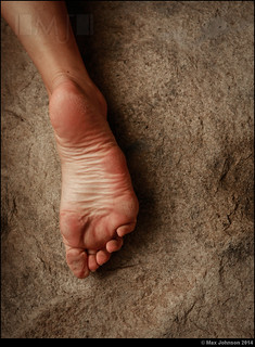 Foot on Stone