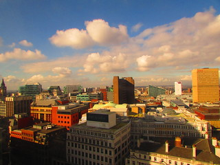 The Manchester Skyline (On Explore 4-3-14)