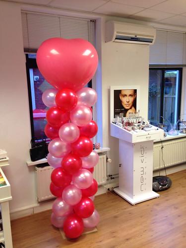 Ballonpilaar Breed Hart Proudly Present Oud Beijerland