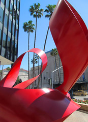 Charles O. Perry (rocor) Tags: artist redribbon beverlyhills untitled sculptor publicsculpture wilshireboulevard charlesperry charlesoperry