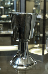Chichester, Sussex, cathedral, treasury, liturgical vessel (groenling) Tags: uk england silver sussex coatofarms cathedral westsussex britain treasury vessel ag dyke liturgy walsh waldron chichester chalice 1638