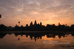 Siem Reap, Angkor Wat, sunrise (blauepics) Tags: world panorama reflection heritage water silhouette stone architecture sunrise temple site cambodia kambodscha wasser khmer capital hauptstadt religion buddhism unesco empire architektur angkor wat hinduism stein sonnenaufgang reich reflektion tempel weltkulturerbe buddhismus hinduismus