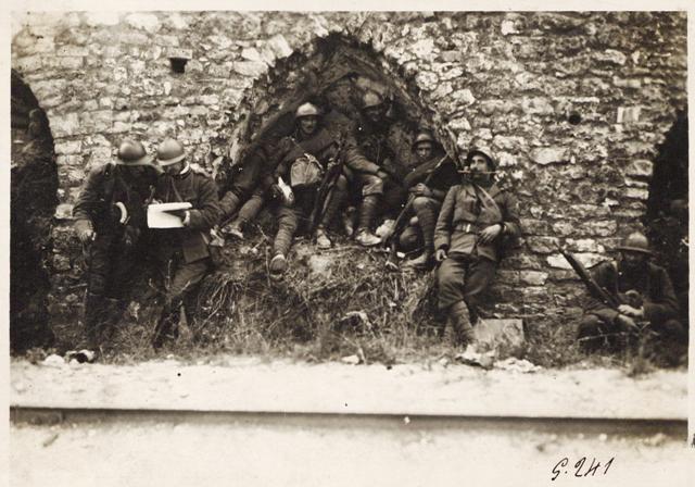 Fronte italiano in Francia. Truppe al fronte, Roma, Museo Centrale del Risorgimento