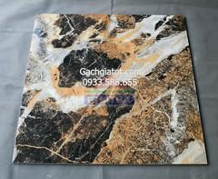 Gạch bóng kiếng vi tinh đá núi đen (80x80)