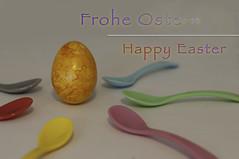Happy Easter - Frohe Ostern (MR-Fotografie) Tags: easter happy 50mm nikon karte card ostern nikkor frohe 2014 18d d90 mrfotografie