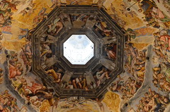 The Elders of Revelation (pjpink) Tags: italy art church painting march spring catholic cathedral dome firenze fresco lastjudgment foresthillpark 2014 ilduomo thelastjudgment pjpink